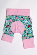 Coccinelle, rose short size 1