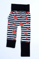 Watermelon stripes, noir sans bum 6M-3T